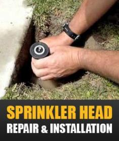 our professional techs will fix any kind of sprinkler heads